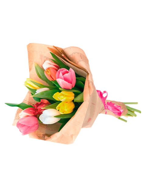 Bouquet de 10 Tulipanes