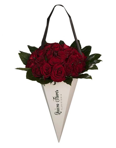 Cono Quiero Flores